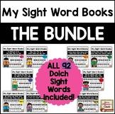 My Sight Word Books - THE BUNDLE