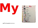 My Sight Word Chart