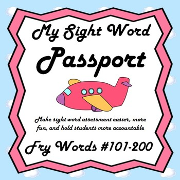My Sight Word Passport (Fry's Second 100)