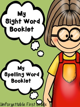 My Sight Word & Spelling Word Booklet
