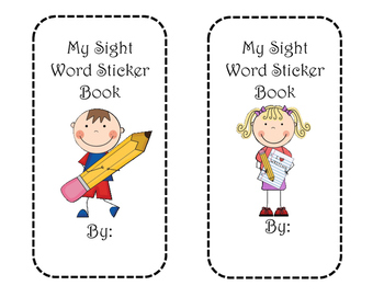 My Sight Word Sticker Book