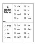My Sight Word Sticker Book