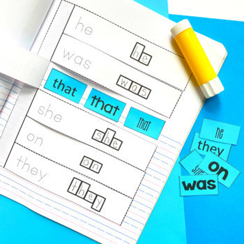 Sight Words Interactive Notebook: Primer List