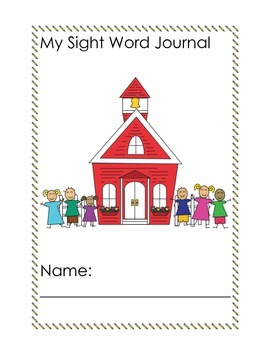 My Sight word journal
