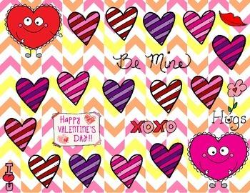 My Silly Valentine NWF DIBELS game