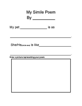 My Simile Poem