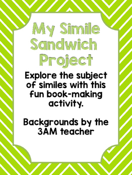 My Simile Sandwich Book