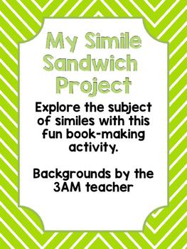 My Simile Sandwich Book