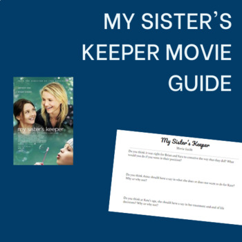 My Sister's Keeper Movie Guide