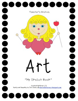 """My Sketch Book"" An Early Finishers Activity"