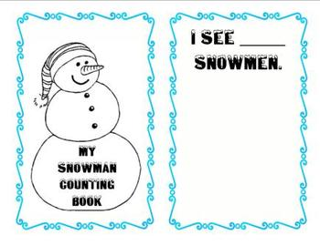 My Snowman Counting Book - Perfect for Christmas and Winter!