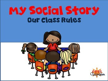 My Social Story - Class Rules for students with Autism