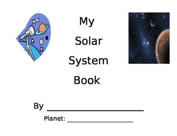 My Solar System Book