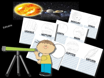 My Solar System Journal