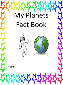 My Solar System and Planets Journal