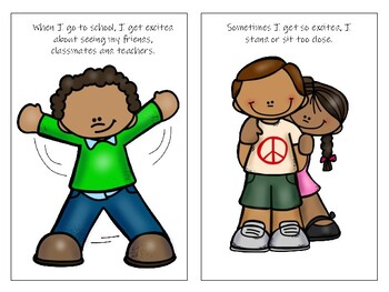 My Space: A Social Story About Respecting Others' Personal Space
