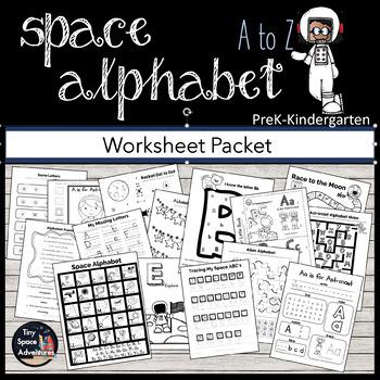My Space Alphabet: Letter Recognition, Identification & Pr