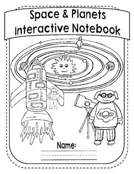 My Space Book Interactive Notebook