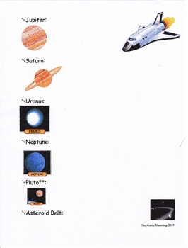 My Space Facts