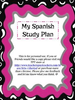 My Spanish Study Plan