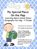 My Special Place on the Map: Geography & Maps for Kindergarten & First Grade