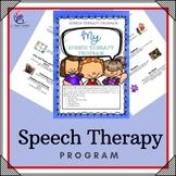 My Speech Program - Activities and Strategies for Speech Development