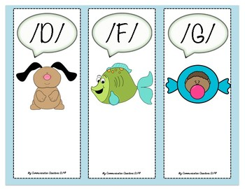 {My Speech Reminders} Tip Sheets/Bookmarks for SLPs & Teachers