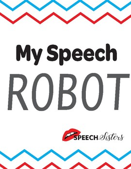 My Speech Robot Speech Pathway Lesson