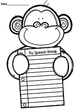 My Speech Words