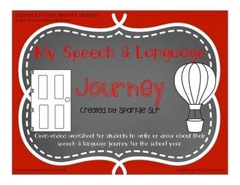 My Speech and Language Journey
