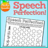 My Speech is PERFECTION: Articulation Game Companion