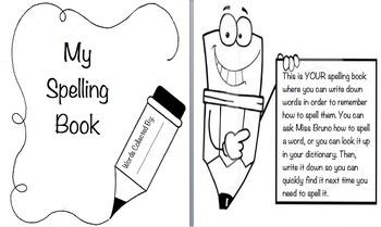My Spelling Book