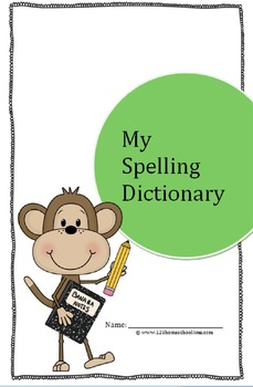 My Spelling Dictionary (folded book, 2nd-5th grade)