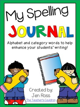 My Spelling Journal {Spelling and Sight Words - and More!}