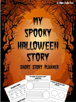 My Spooky Halloween Story - Short Story Planners
