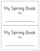 My Spring Book Editable and Personalized