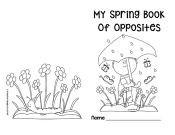 My Spring Book of Opposites