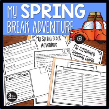 Spring Break Adventure {Homework Packet}