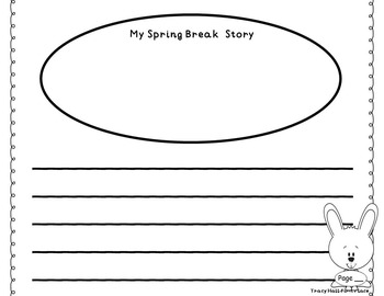 My Spring Break Story-Narrative Writing