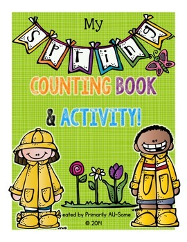 My Spring Counting Book & Activity