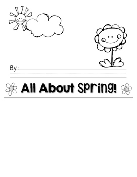 My Spring Flip Book!
