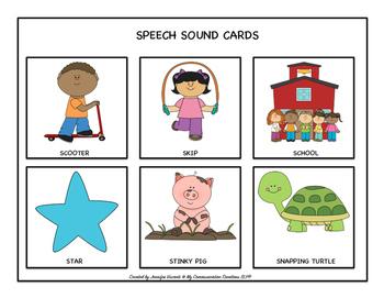 My Spring Speech Book for S-Blends SLP Speech Therapy