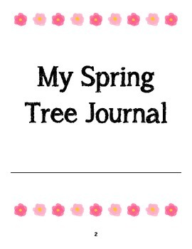 My Spring Tree Journal (FOSS Science, Trees)