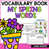 Spring Words Booklet