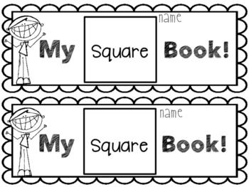 My Square Book-EASY PREP!
