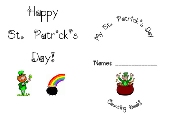 My St. Patrick's Day Counting Book