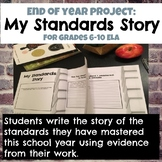 My Standards Story: End of Year Project for Grades 6-10 ELA