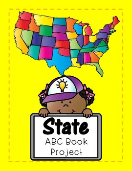 My State ABC book project