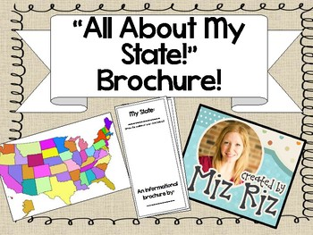 My State Brochure!