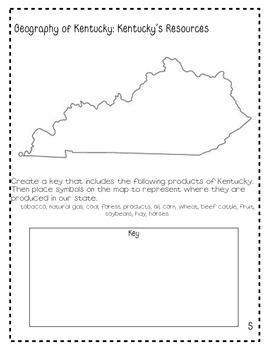 My State Fact File: Kentucky